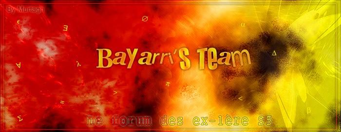 Bayarri's team