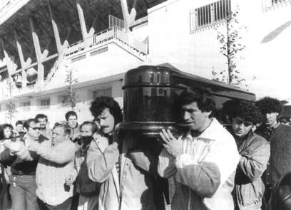 Gallardo  25º aniversario de su desaparición Muerte10