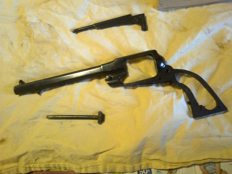 grand démontage d'un revolver remington 1858 Photo025