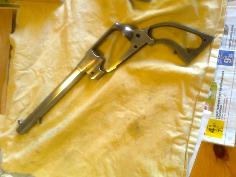 grand démontage d'un revolver remington 1858 Photo032