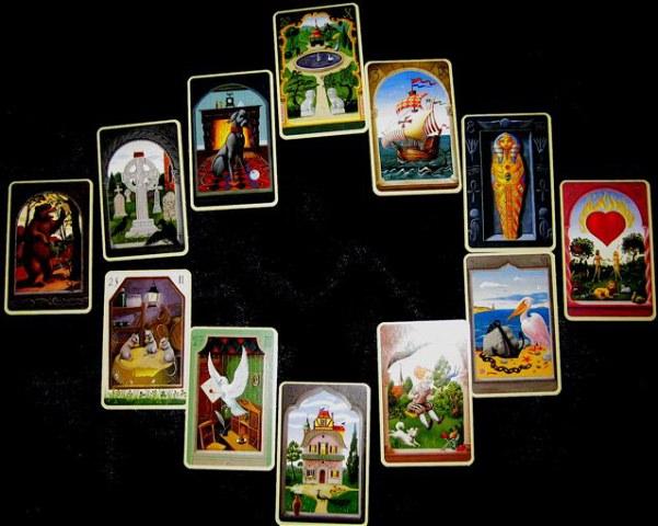 Mystical Lenormand Book ► Regula Elizabeth Fiechter Mystic10