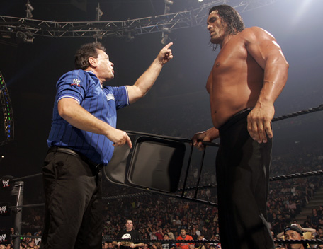 the gread khali vs Triple H for the european title 08260710
