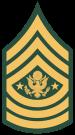 Sargento Mayor del Ejército