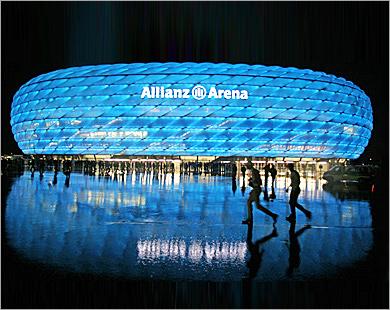 allianz Arena ( stade du Bayern ) Arena10