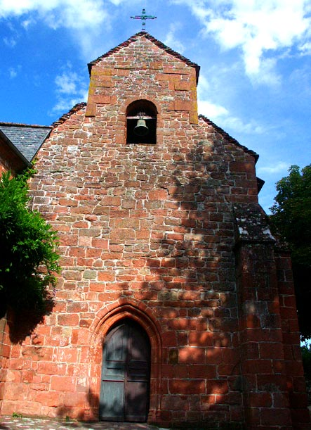 Collonges la rouge en Limousin Chapel10