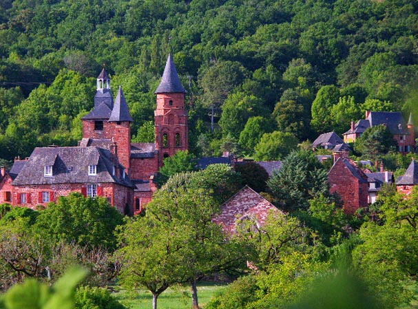 Collonges la rouge en Limousin Ensemb10