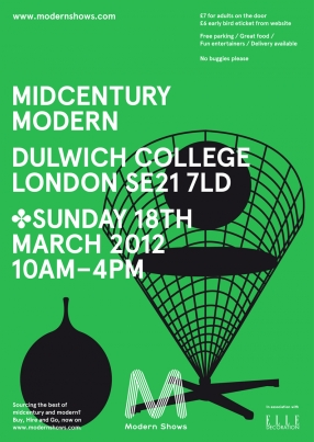 Mid Century Modern Show @ Lords Cricket ground May 2012 Dulwic13