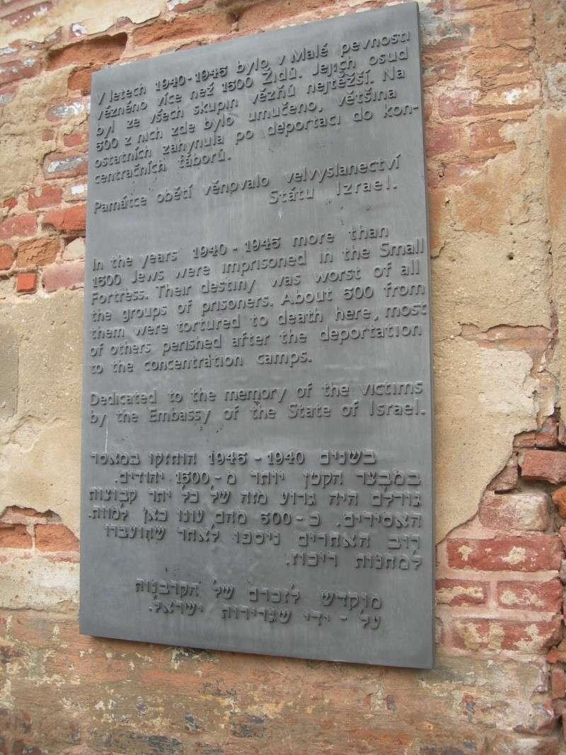 La petite forteresse et le Ghetto de TEREZIN  Dscn9018
