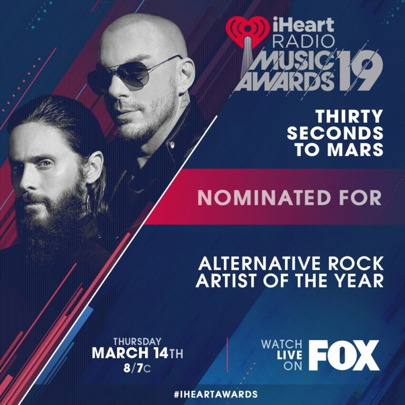 iHeart Radio Music Awards, 14 Mars 2019 Dwkafb10