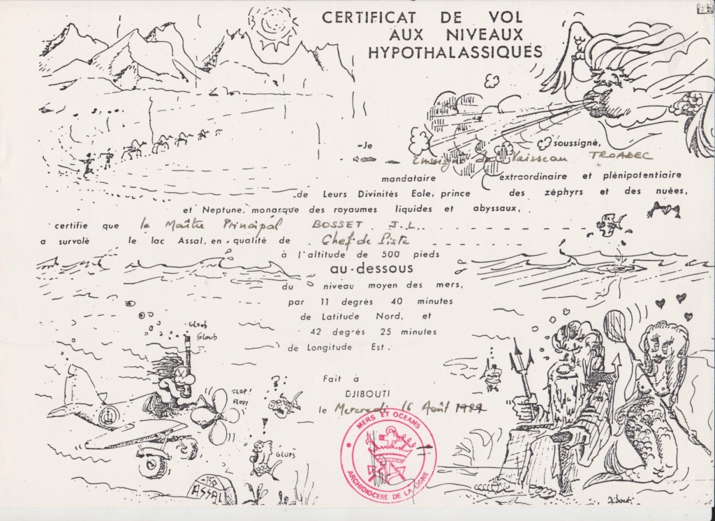 [Campagne] DJIBOUTI - TOME 1 - Page 11 Certif10