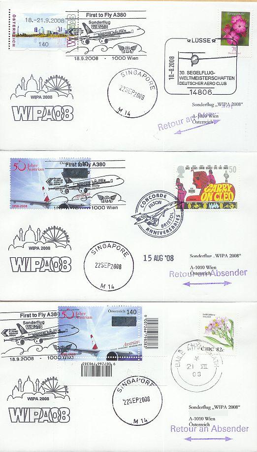Erstflüge, Sonderflüge und neue Ballonpost - Seite 4 Forum11