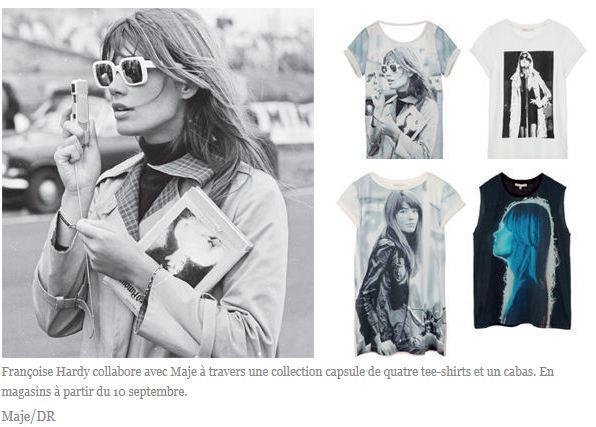 Quatre T shirts et un cabas (!) pour Françoise Hardy ... Captur10