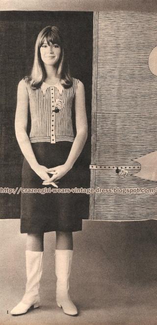 Françoise Hardy Fashion 60's  Sans_t11