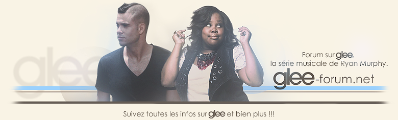 Glee Forum Francophone
