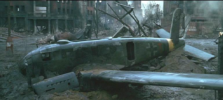 junker ju 88 - panzer IV  front de l'est hiver 42-43 - l'épave du Ju 88 Eagsi-10