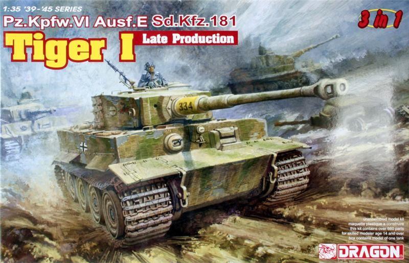peinture - Diorama - Sortie d'usine ! - l'aventure continue - vues d'ensemble et l'arrière Tiger110