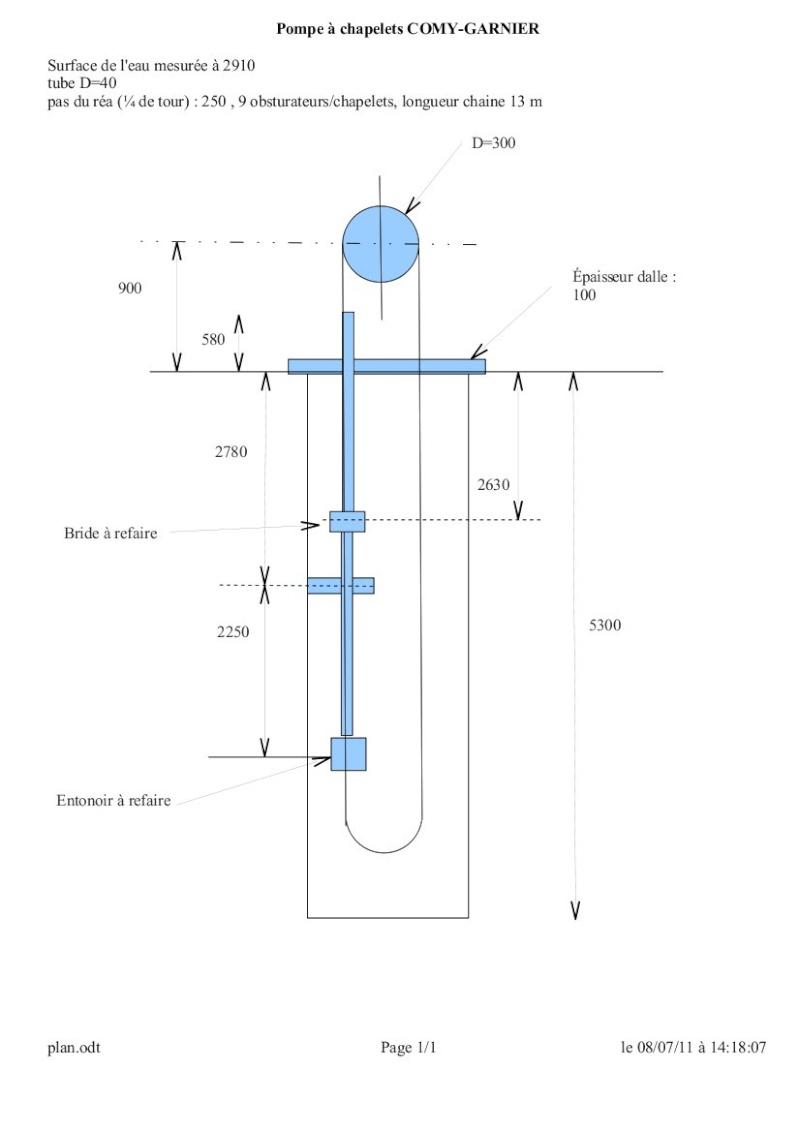 restauration - Restauration pompe à chapelets Plan11