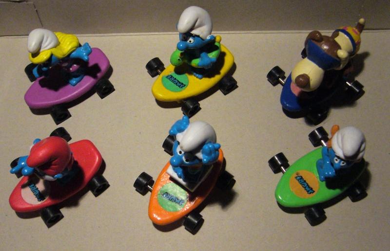 schtroumpfs - [hardee's] Série schtroumpfs skate schleich P1100414