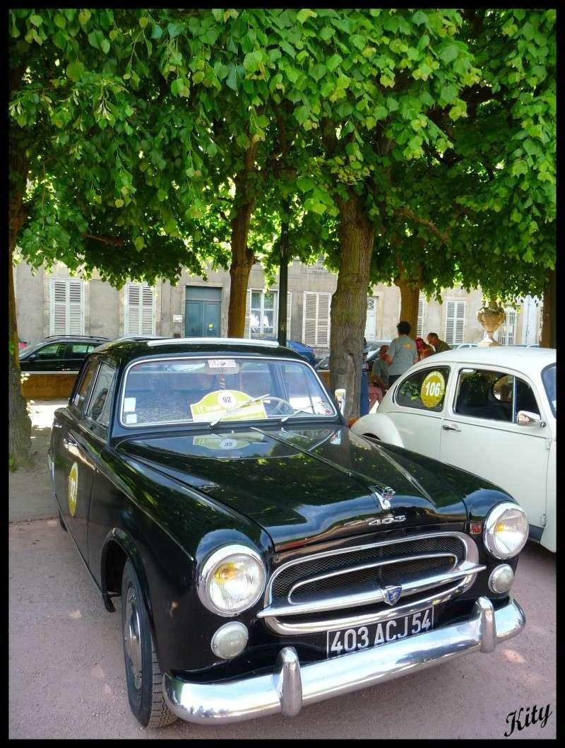 11ème édition du Rallye historique de lorraine - Page 6 P1060220