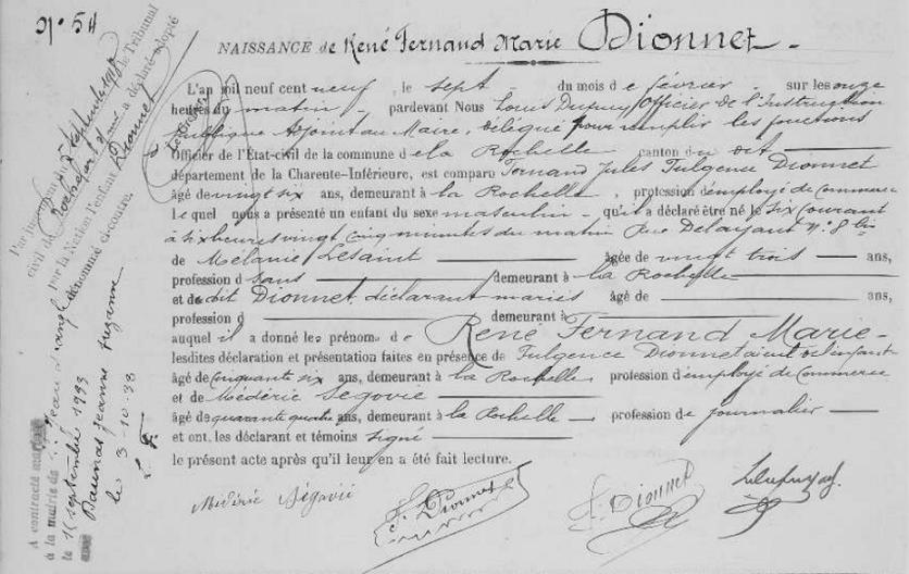 René Dionnet : petit essai biograhique et généalogique Captur19