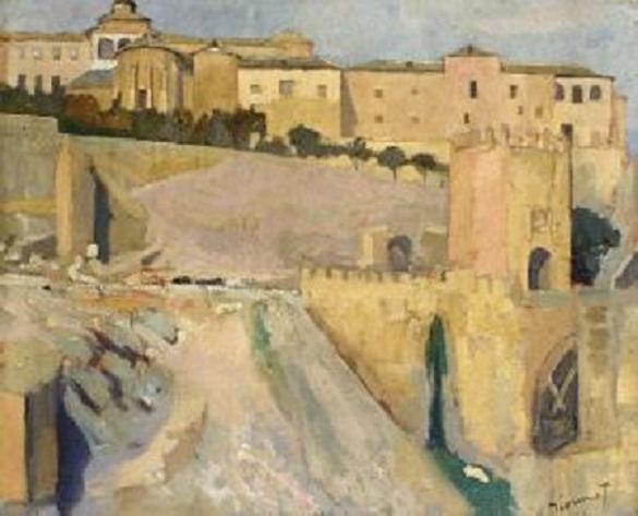 René Dionnet, peintre français d'art profane Dionne13