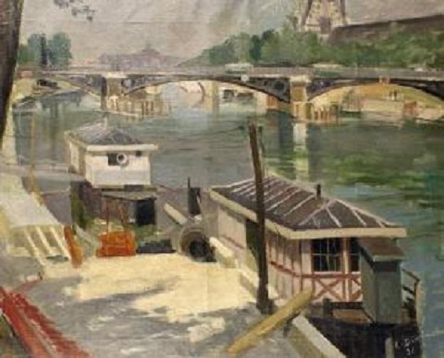 René Dionnet, peintre français d'art profane Dionne14