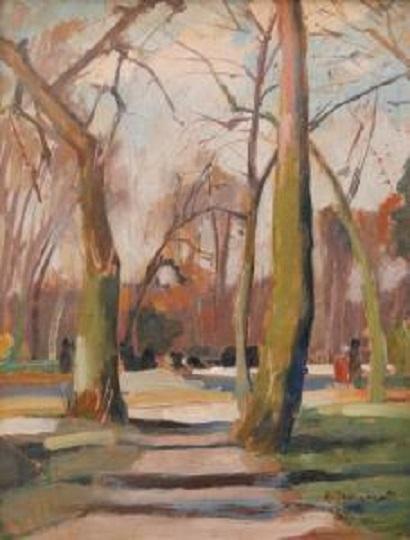 René Dionnet, peintre français d'art profane Dionne15