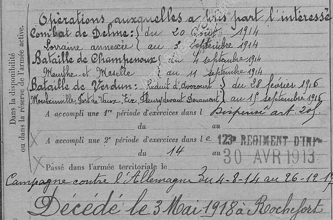 René Dionnet : petit essai biograhique et généalogique Fiche_11