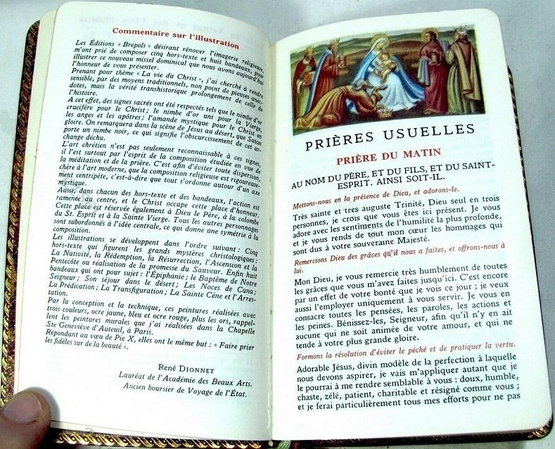 René Dionnet, peintre français d'art sacré - Page 2 Missel11