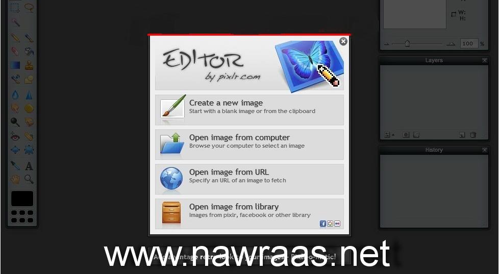 فوتوشوب اونلاين 2012 بدون تحميل Photoshop 11111010