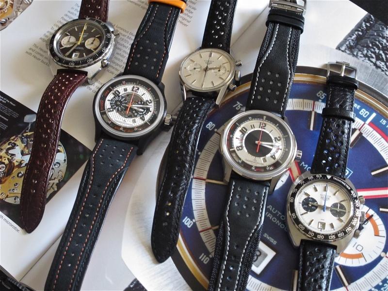 "Heuer ""vintage"", Jaeger Lecoultre modernes ... Img_9226"
