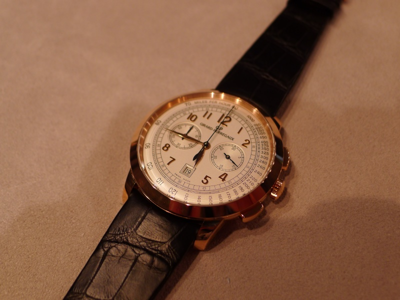 SIHH 2012 - Girard Perregaux 1966 chronographe date L1010625