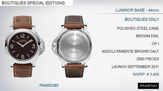 Panerai Luminor PAM 390 Pam39010