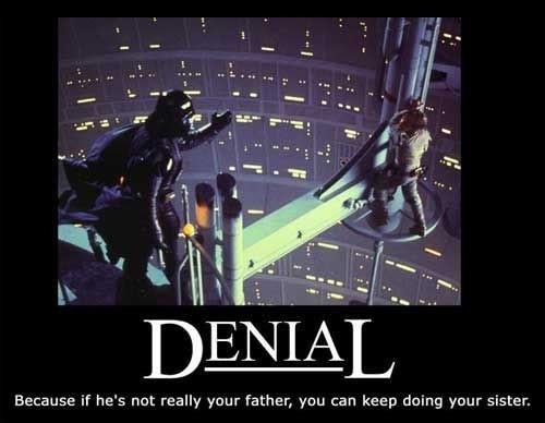 Demotivational Posters. Denial10