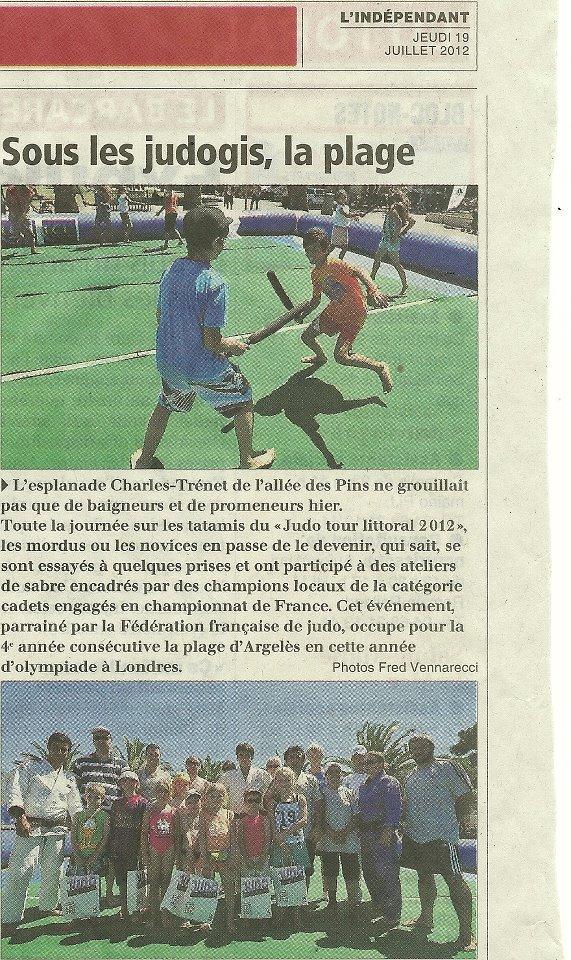 """Le """"judo tour littoral 2012"""" se ridiculise sur les plages de France !  Judo_p11"""
