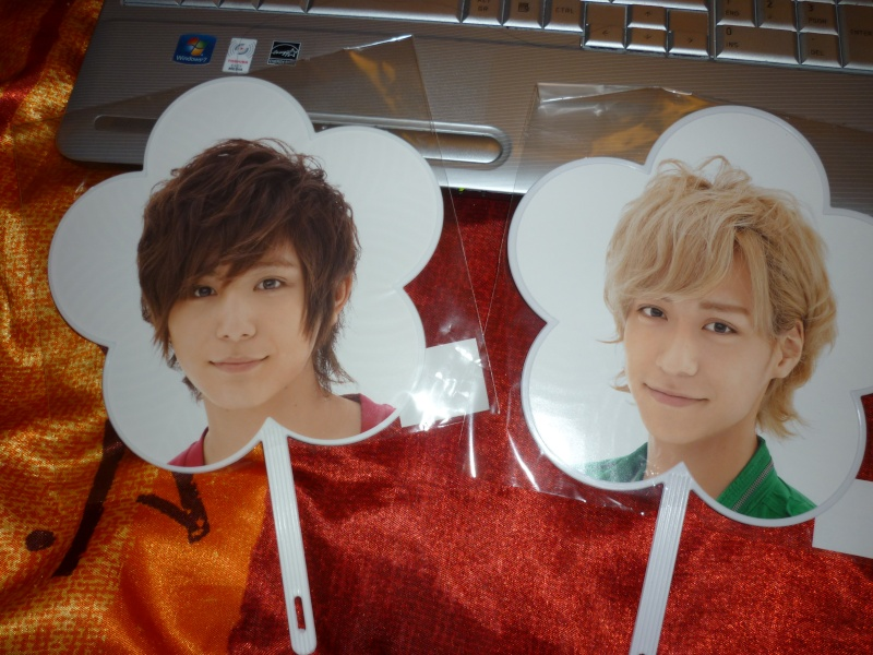 petit collection des Johnny's By パンダ Uchiwa10