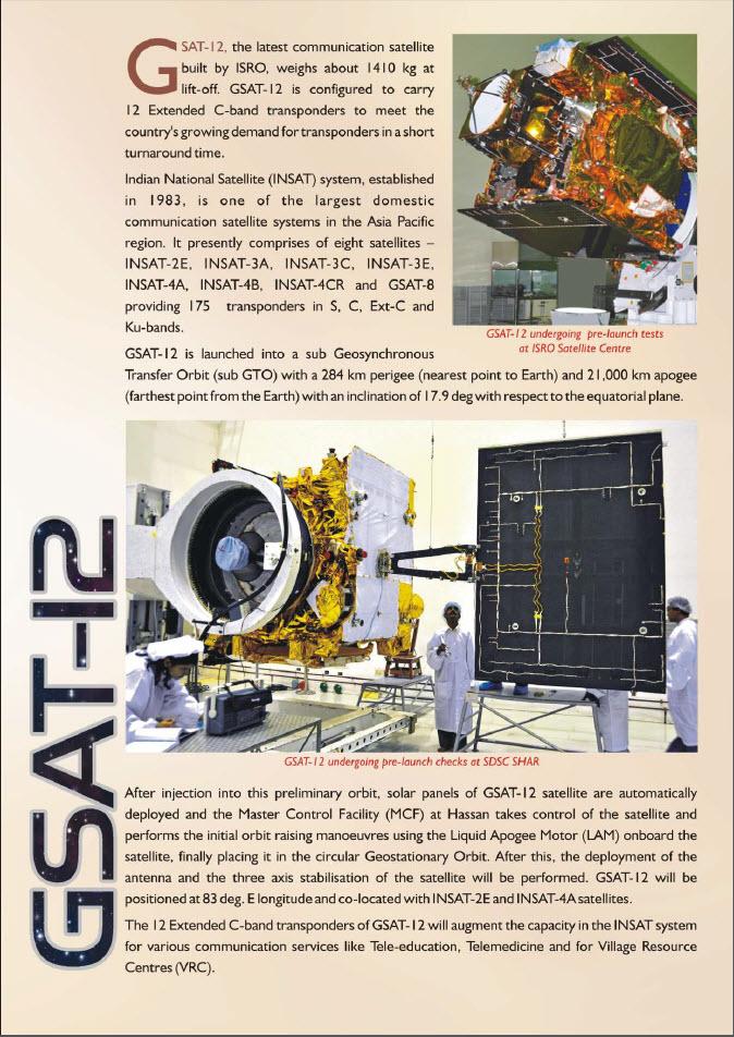 [Inde] PSLV C17 - GSAT-12   0318