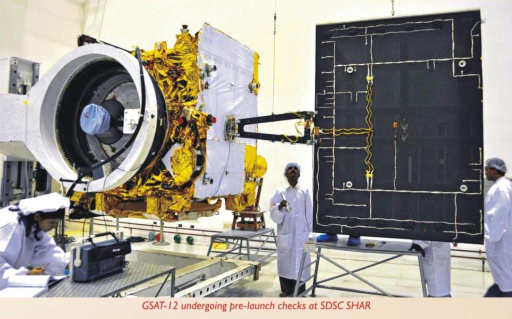 [Inde] PSLV C17 - GSAT-12   0712