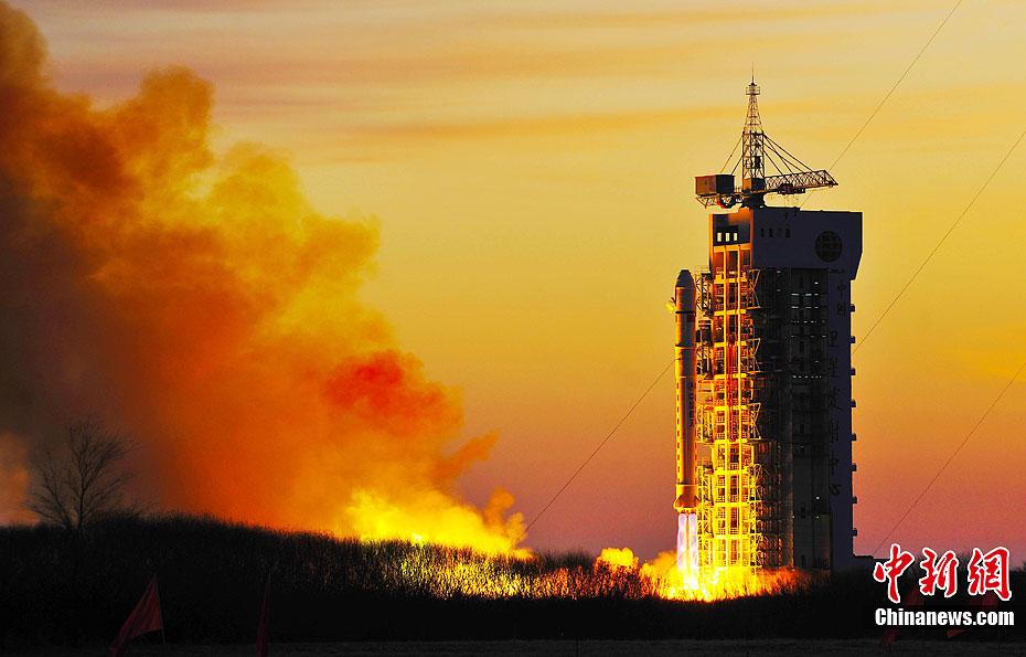 Lancement CZ-4B / SY-4 & CX-1-03 à TSLC - Le 20 Novembre 2011 - [Succès] 12061810