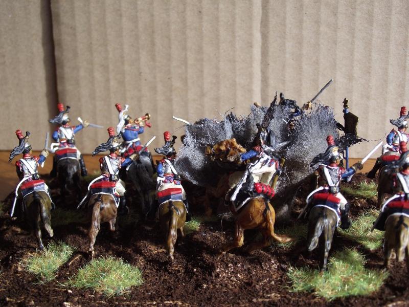 Diorama - 1er régiment de cuirassiers Derrie10