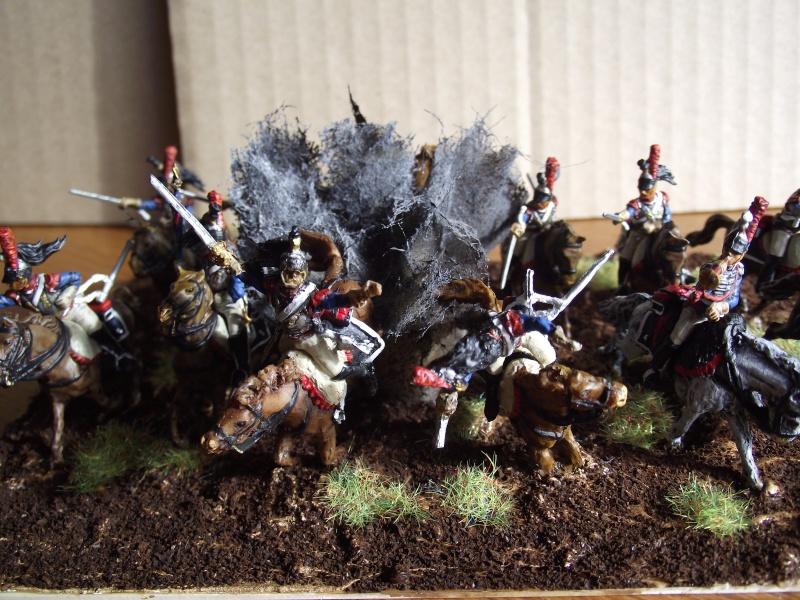 Diorama - 1er régiment de cuirassiers Devant10
