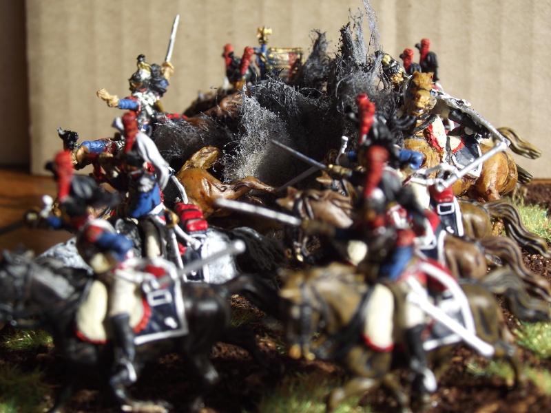 Diorama - 1er régiment de cuirassiers Droite10