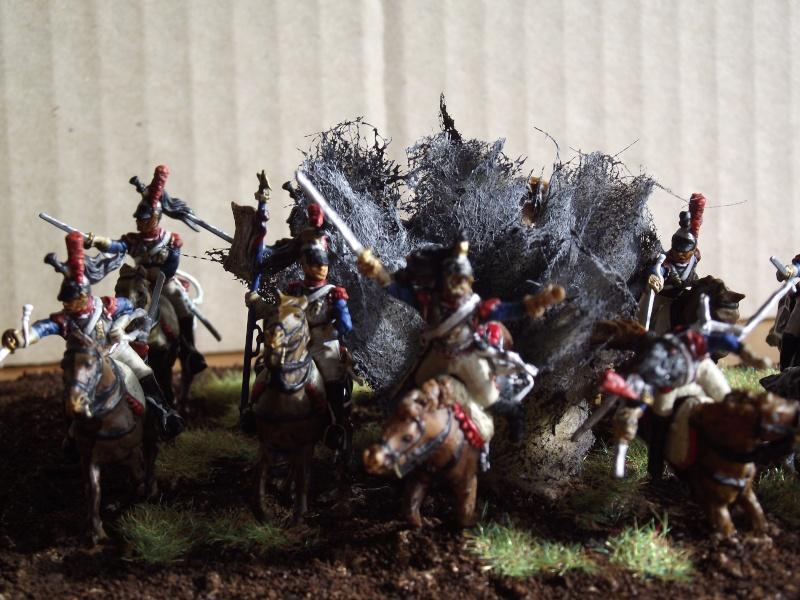 Diorama - 1er régiment de cuirassiers Dscf3910
