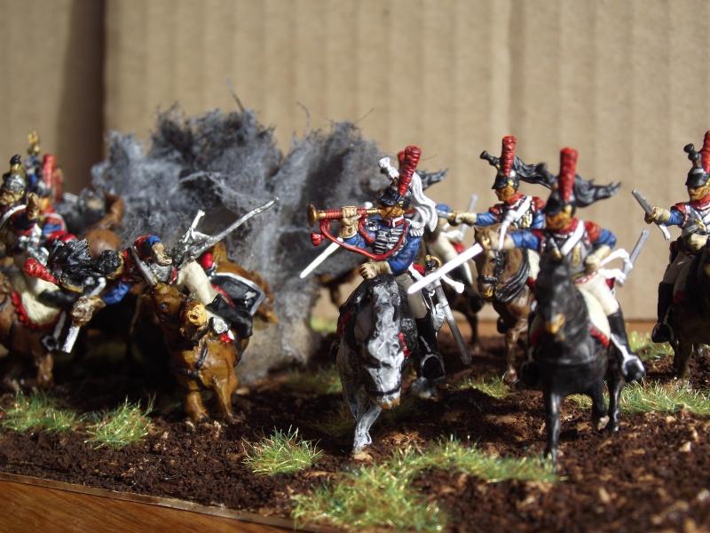 Diorama - 1er régiment de cuirassiers Dscf3911