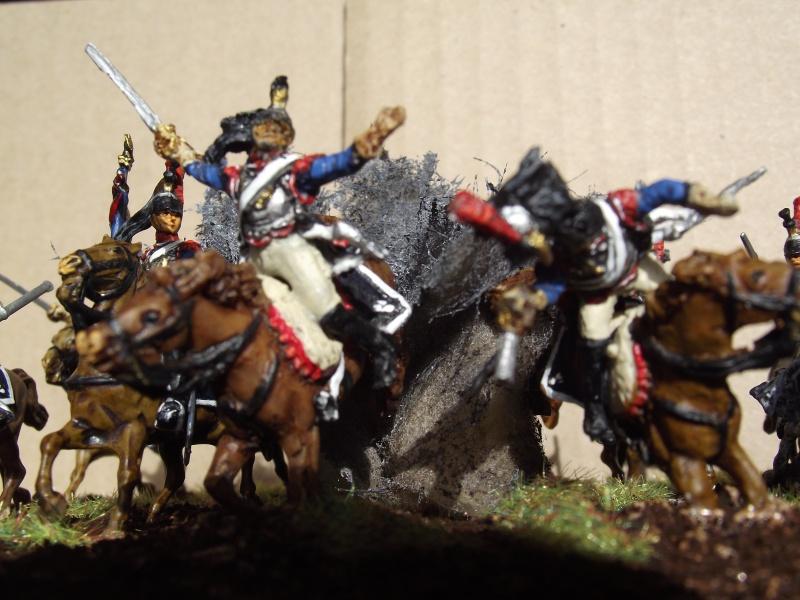 Diorama - 1er régiment de cuirassiers Dscf3912