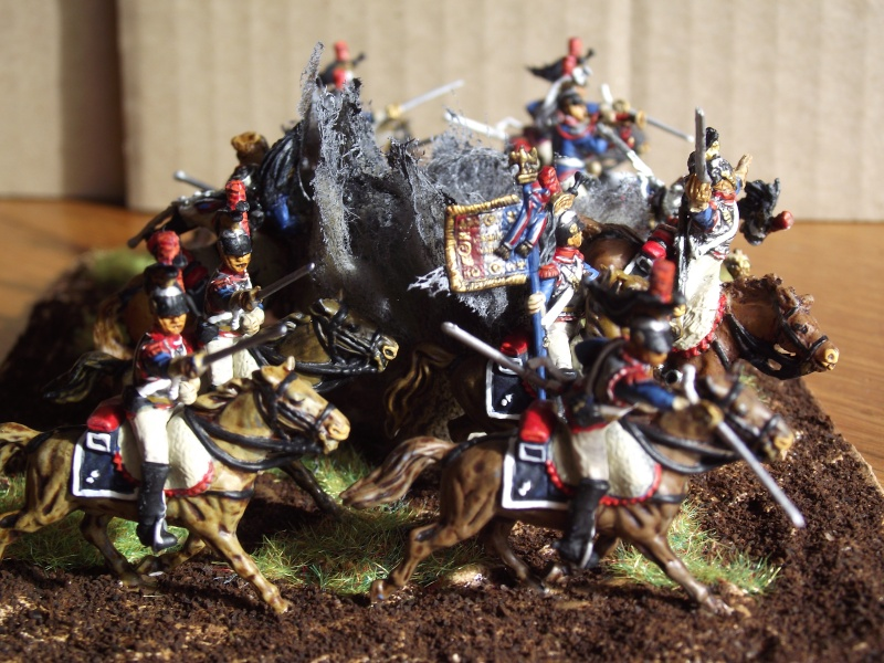 Diorama - 1er régiment de cuirassiers Gauche10