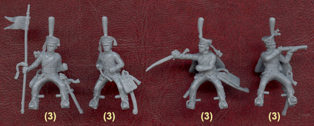 Hussards russes ---> hussards français Zve80510