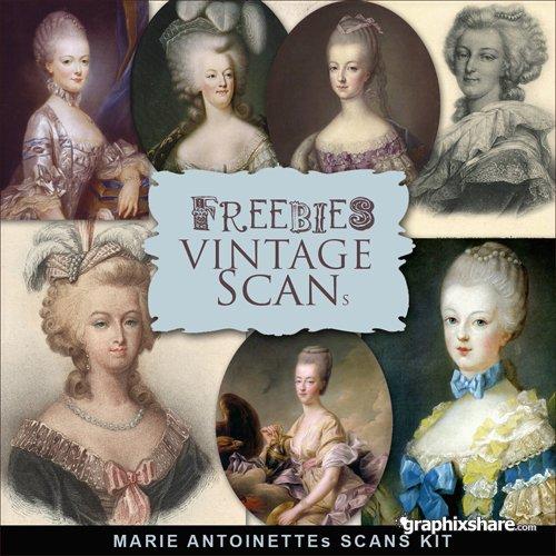 Marie-Antoinette, Vintage ! 13095410