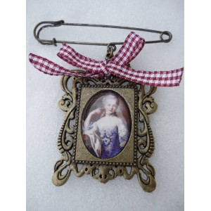 Marie-Antoinette, Vintage ! Broche10