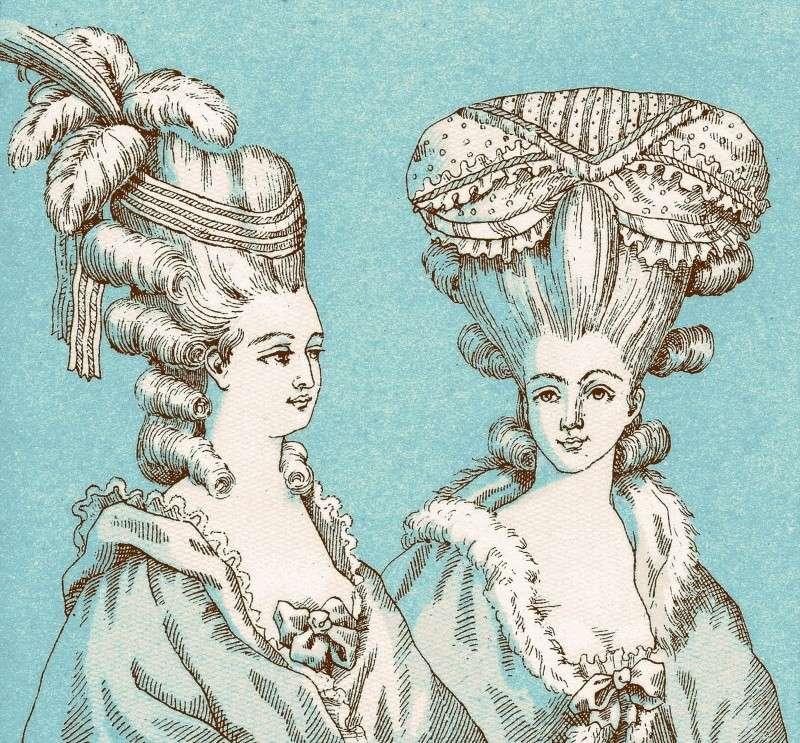 Marie-Antoinette, Vintage ! French10